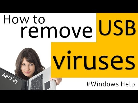 How To Remove Shortcut Virus From USB Pendrive(Free Download) | Windowshelp#4