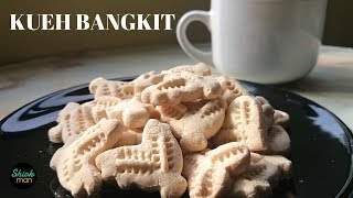 Shiokman Kueh Bangkit (Melt-in-the mouth Coconut Cookies)