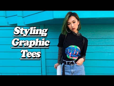 ❤ Styling Graphic Tees ❤