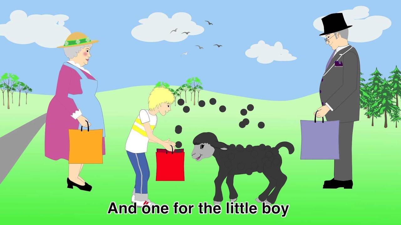 Nursery Rhymes - Baa Baa Black Sheep 2 - YouTube