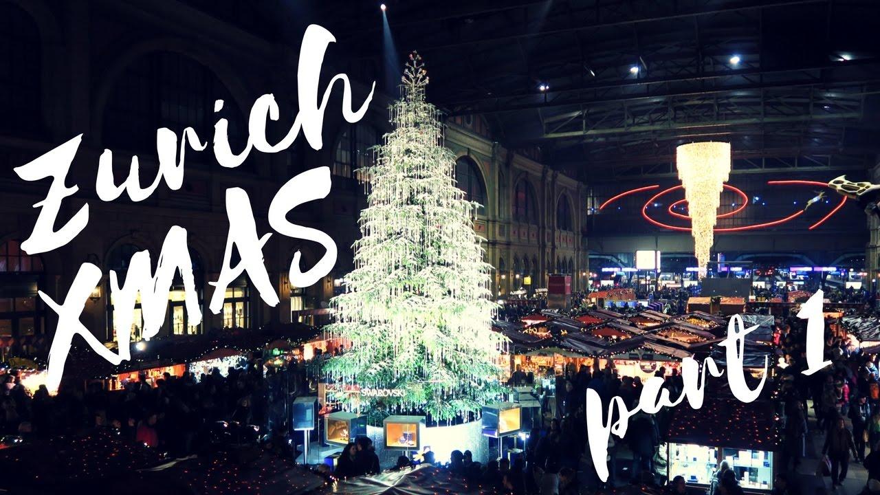 Zurich Christmas Market (part 1) - YouTube