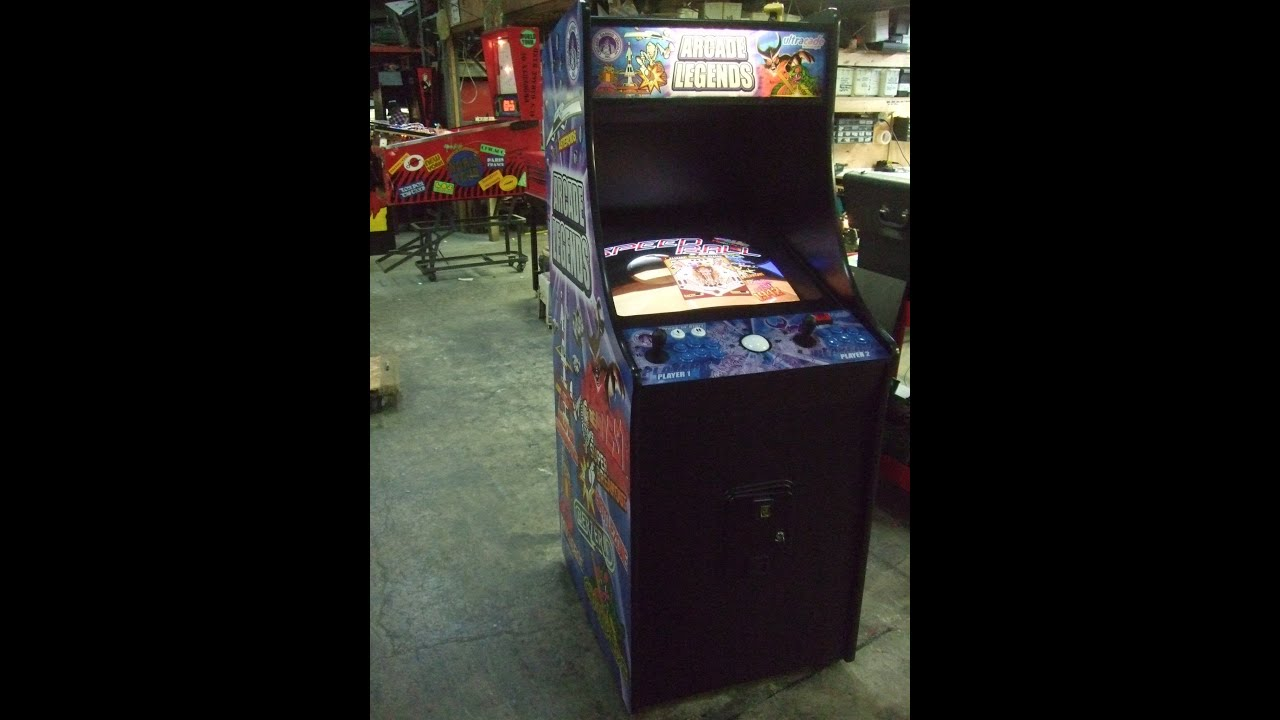 373 Chicago Gaming ARCADE LEGENDS Arcade Video Game with LOTS of      373 Chicago Gaming ARCADE LEGENDS Arcade Video Game with LOTS of Classic  Games  TNT Amusements