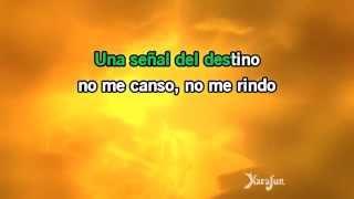 Karaoke No me doy por vencido - Luis Fonsi *