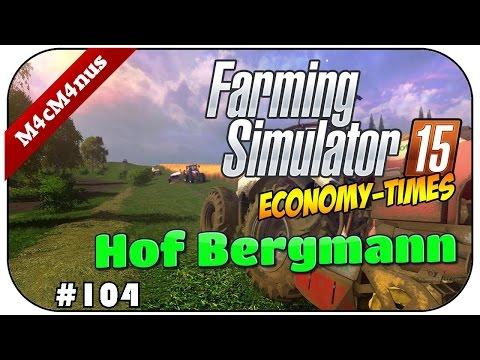 SEXY JCB RADLADER - LS15 HOF BERGMANN V1.2 FINAL #104 ★Let's Play Farming Simulator 15