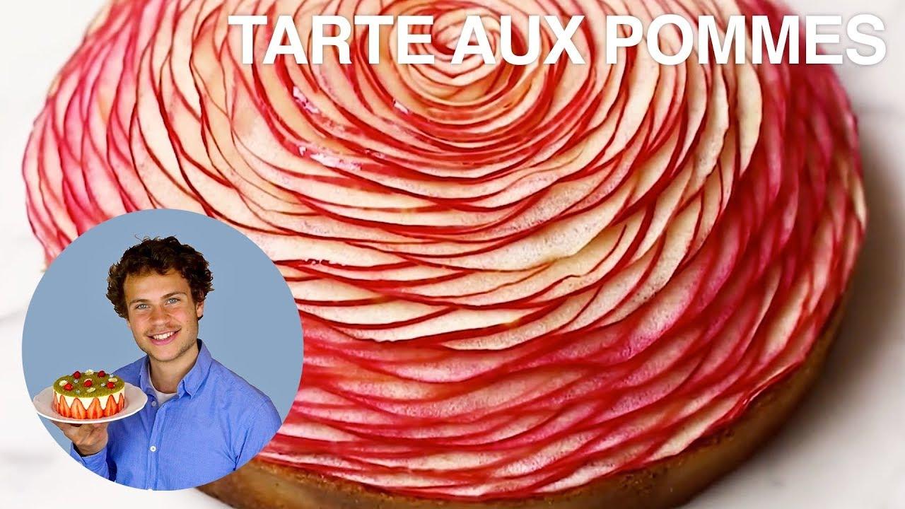 Recette De La Tarte Aux Pommes De Cedric Grolet Youtube