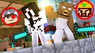 ДВЕ БАБУШКИ ГРЕННИ ПУГАЮТ ВСЕХ НА БЕДВАРСЕ! Minecraft Bed Wars