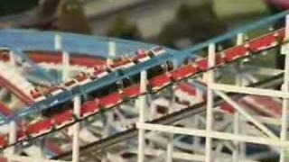 Lionel 'o' Gauge Trains & Amusement Park Roller Coaster