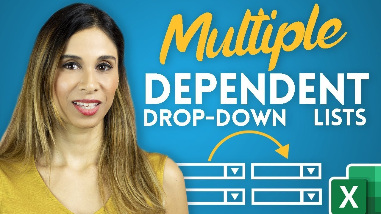 Create Multiple Dependent Drop-Down Lists in Excel (on Every Row)