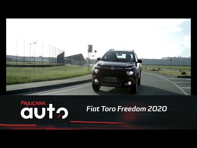 Conheça os diferenciais do Fiat Toro Freedom 2020