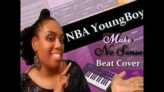 NBA YoungBoy Make No Sense Beat Cover