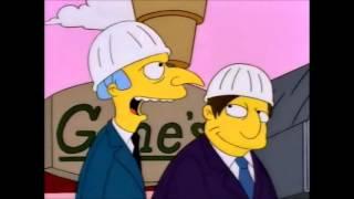 The Simpsons - Crippled Irishman  (Episode: $Pringfield)