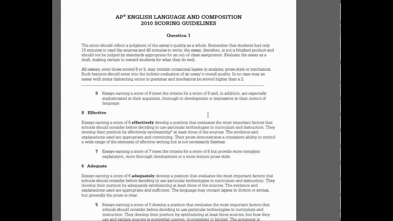 english essay practice