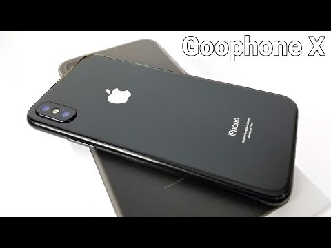 iPhone X Clone - Goophone X - The First One!