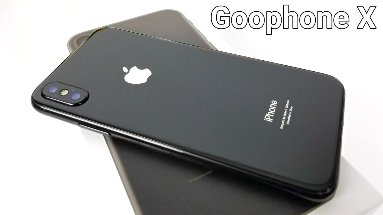 how to tell what kind of iphone you have iphone x clone goophone x the one 2039