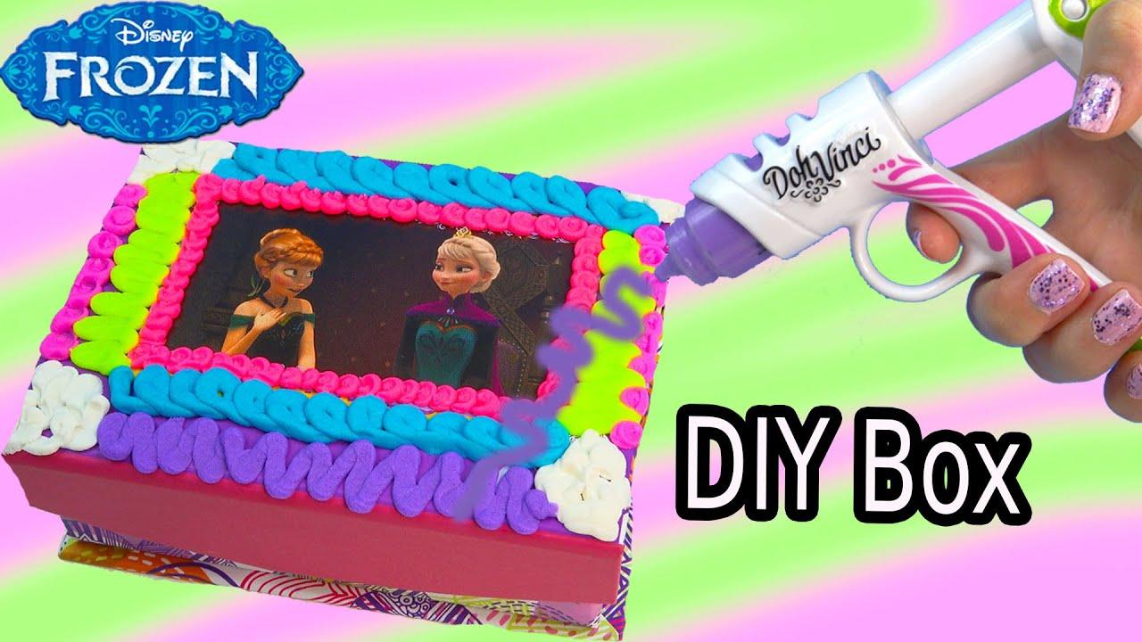 Queen Elsa Princess Anna Playdoh DohVinci DIY Disney Frozen Sticker