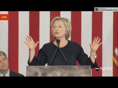 Hillary Clinton talks about E Pluribus Unum