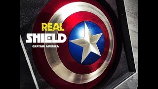 Captain America Shield/ НАСТОЯЩИЙ ЩИТ Капитана Америки 🔴
