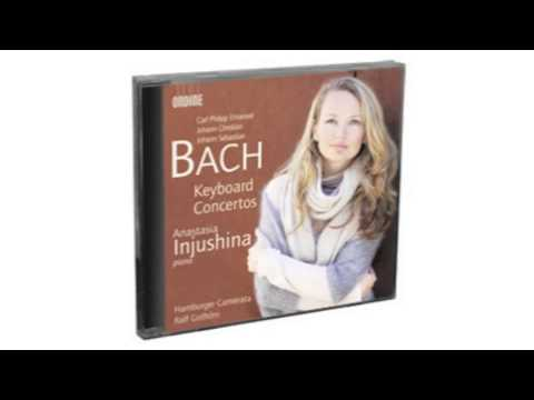 C.P.E., J.C. & J.S. Bach - Keyboard Concertos Ondine 1CD ODE1244-2
