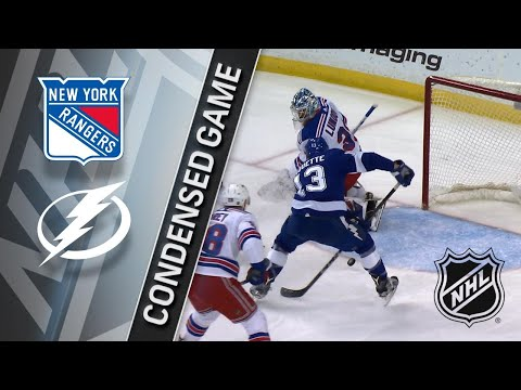 03/08/18 Condensed Game: Rangers @ Lightning