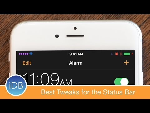 Here Are the Best Tweaks for the Status Bar in iOS 10