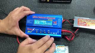 충전기(IMAX B6)사용 방법(LI-PO배터리)