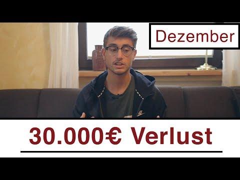Projekt Update | Über 30.000€ Verlust + Meine Ziele für 2018 | Dezember 2017