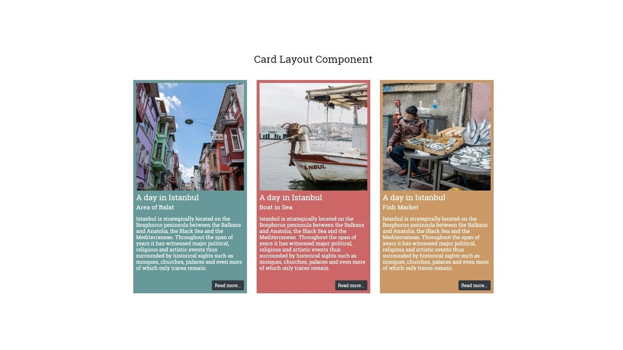 bootstrap 4 cards youtube