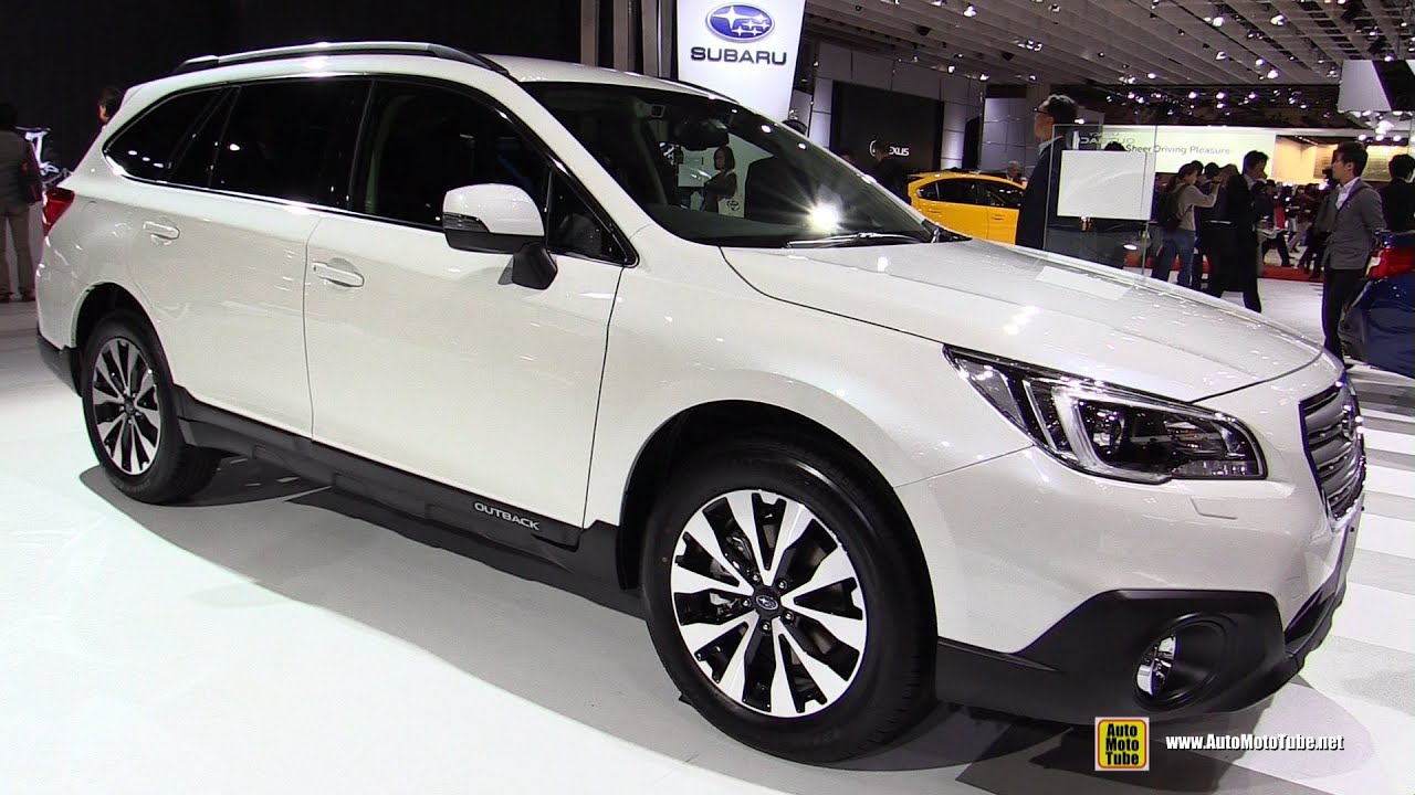 2016 subaru legacy outback exterior and interior walkaround 2015 tokyo motor show youtube. Black Bedroom Furniture Sets. Home Design Ideas