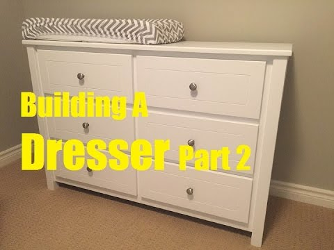 Building A Dresser Part 2 - Drawers & Finish