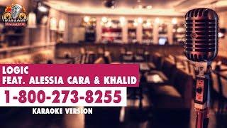 Logic - 1-800-273-8255 (ft. Alessia Cara & Khalid) (Instrumental/Lyric Video)