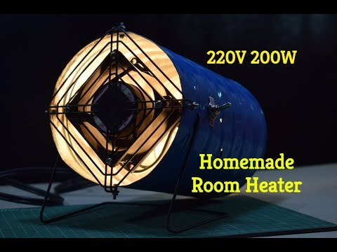 Electric Heaters - How to make an Electric Heater - Homemade Space Heater