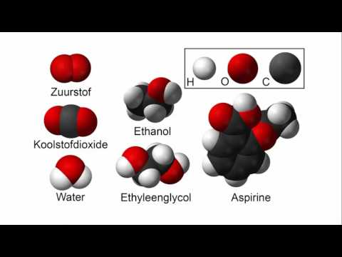 Atomen, moleculen en stoffen