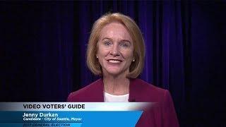 Video Voters\' Guide - City of Seattle Mayor: Jenny Durkan