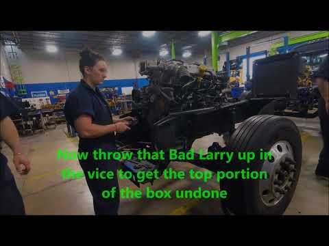 Steering Gear Box Removal/Disassembly