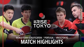 Скачков К./Сидоренко В. vs Lee Sangsu/Jeoung Youngsik | World Team Qualification 2020 (R32)