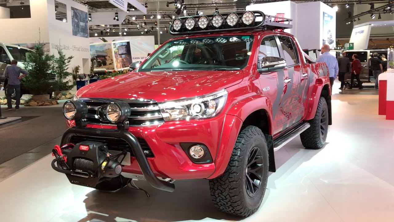 Toyota Hilux Arctic Trucks At35 2017 In Detail Review
