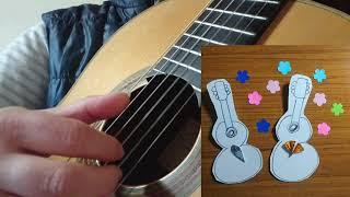 童謡『うれしいひなまつり』をクラシックギターで弾いてみた! ザキリー