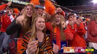 Clemson vs Alababma 2019 Sitting by the Bay Gob Smacked & Shocked