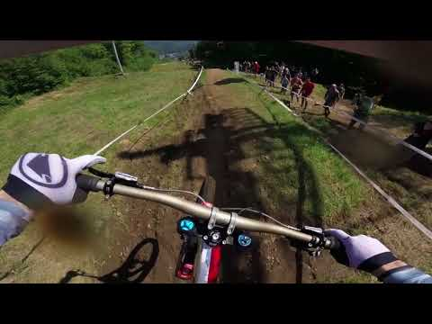 Gee ATHERTON World Cup 2018 Mont St Anne Finals: 100% commitment on GoPro