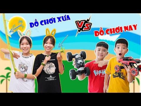Đồ Chơi Trẻ Em Xưa Và Nay ♥ Min Min TV Minh Khoa