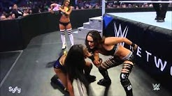 Naomi VS Brie Bella Smackdown Jan 15th 2015