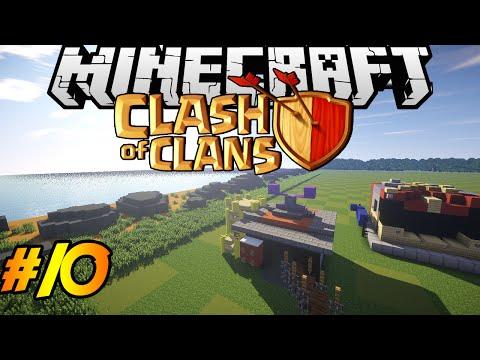 Clash of Clans in Minecraft | Making of #10 | Barracks, Dark Barracks