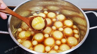 Cách nấu chè trôi nước mềm dẻo và không bị cứng