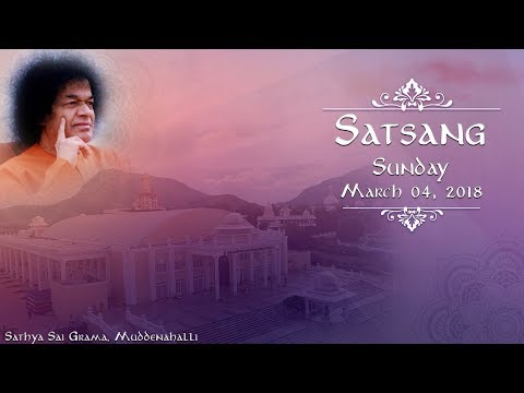 Divine Satsang Live from Muddenahalli : 07 October 2018 by