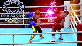 Tokyo 2020 Olympic Games Gameplay - Football, Volleyball, Tennis & Boxing