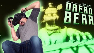 JUMPSCARE KNOCKED ME ON MY BUTT!!   Five Nights At Freddy's VR: Curse of Dreadbear DLC