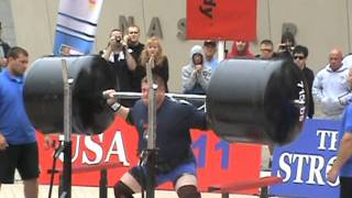 2011 World's Strongest man- Squat Lift- Zydrunas Savickas