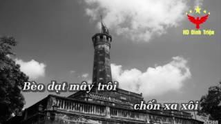 [Karaoke Nhạc Sống] Bèo Dạt Mây Trôi | Dân Ca Quan Họ