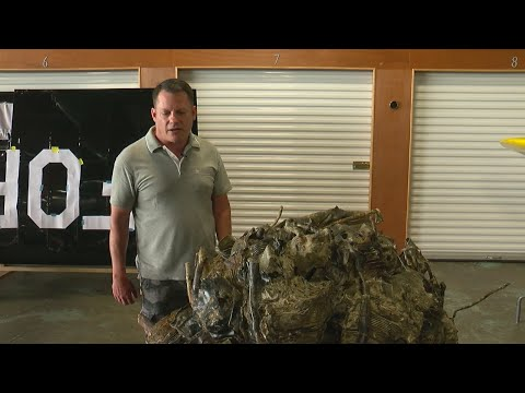 Wreckage From Minnesota WWII Pilot