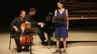 Brahms 2 Songs Op. 91, Kara Dugan, Julian Schwarz, Peter Dugan